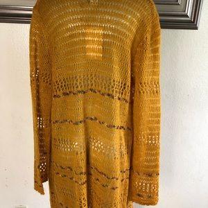 Soft Surroundings Sweaters - Soft surroundings wool blend duster sweater